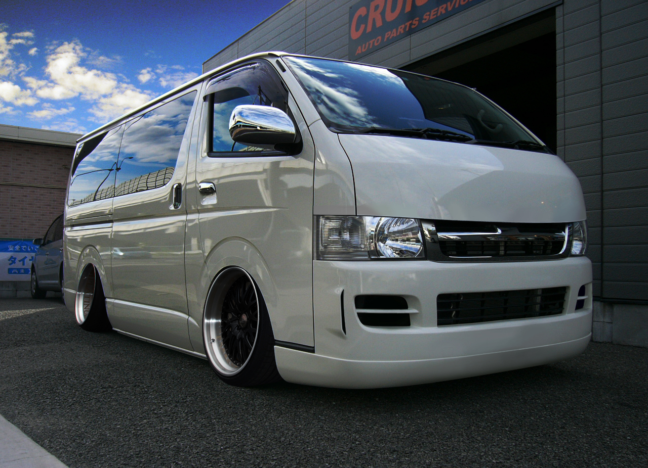 toyota hiace h200 2 tuning. Black Bedroom Furniture Sets. Home Design Ideas