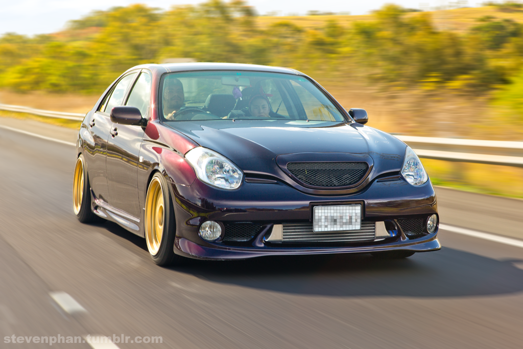 Toyota Verossa Tuning Blue Collection 8 Wallpapers