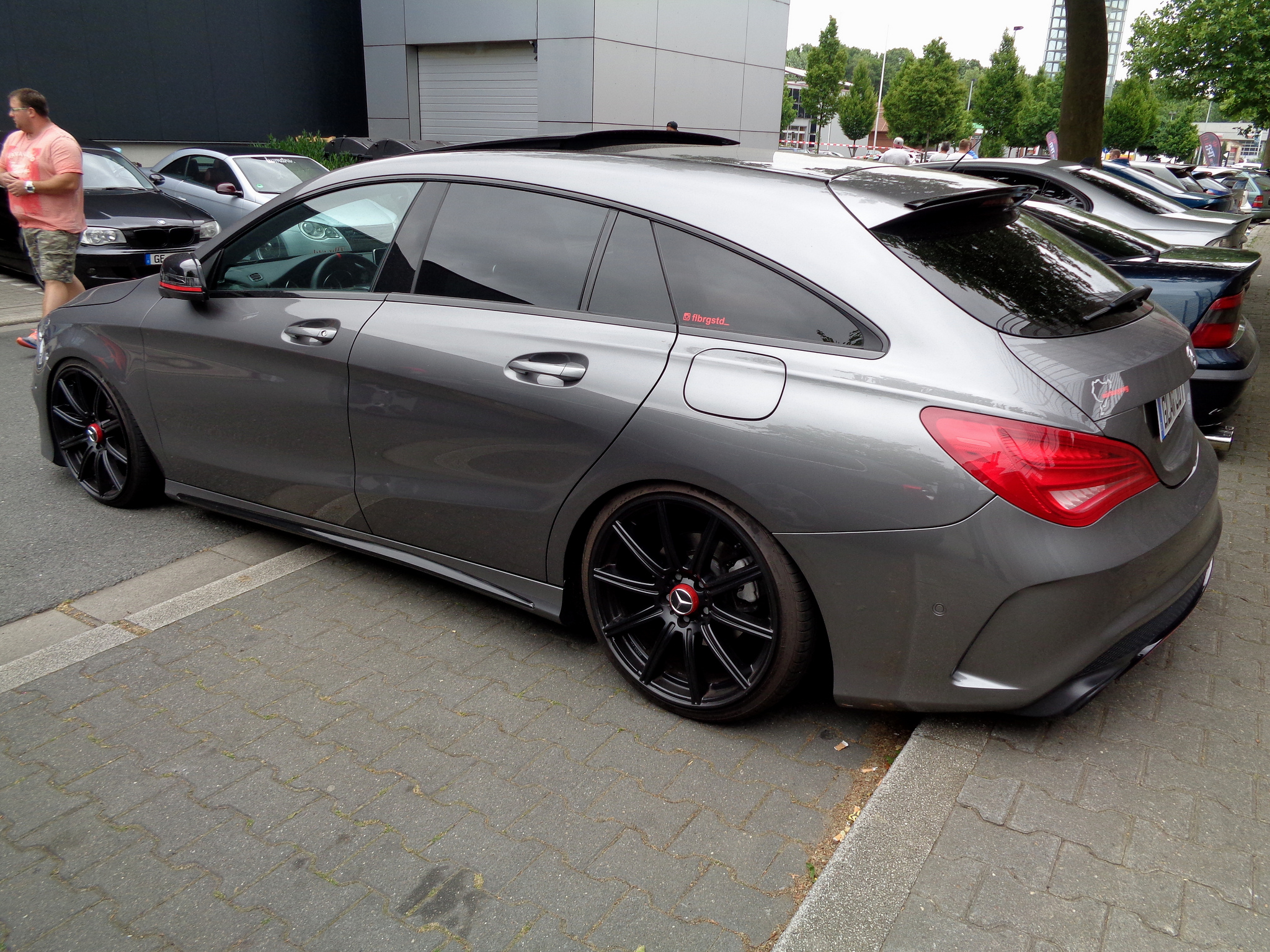 mercedes cla shooting brake 1 tuning. Black Bedroom Furniture Sets. Home Design Ideas