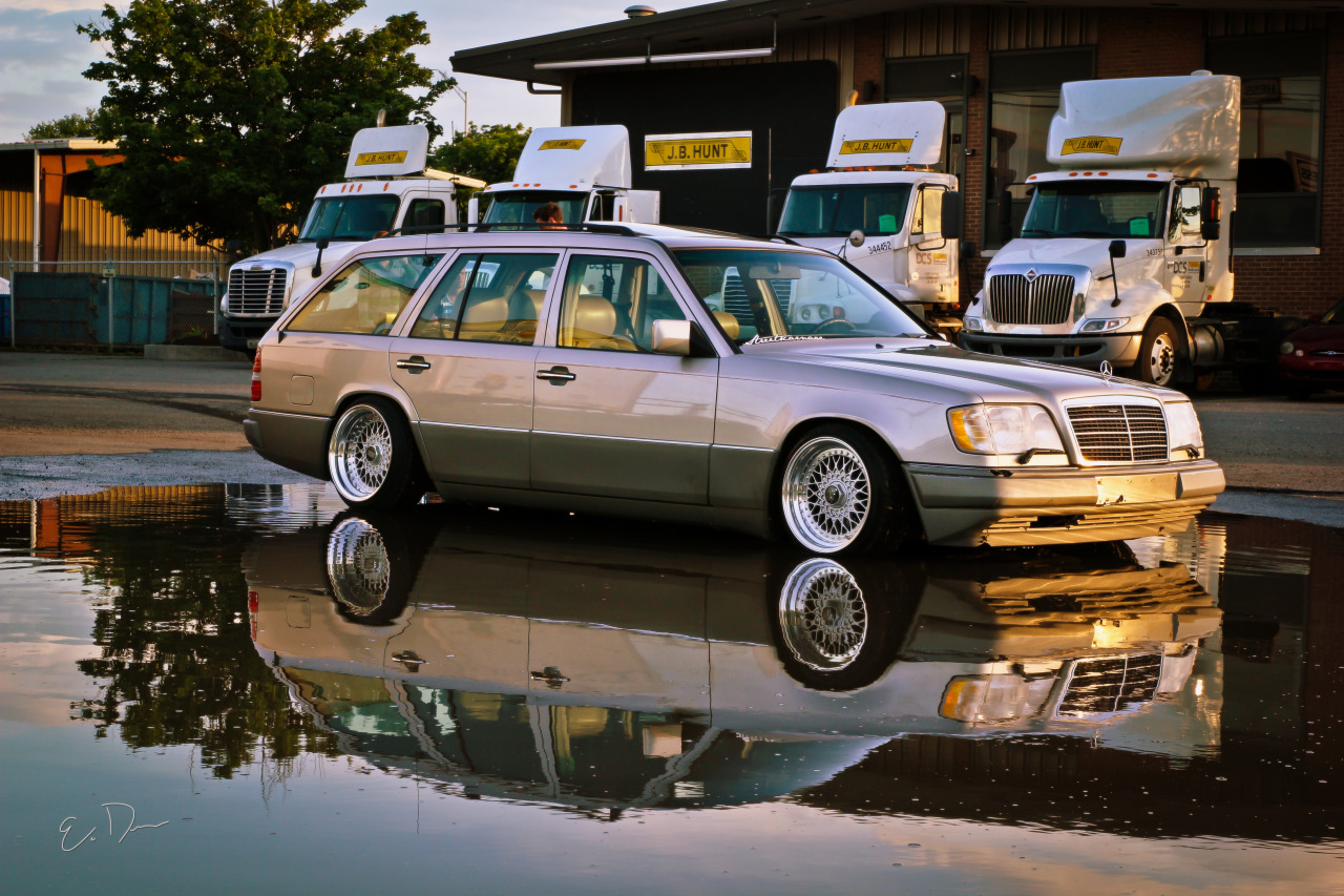 Mercedes benz e class w124 station wagon 7 tuning for Mercedes benz station wagon