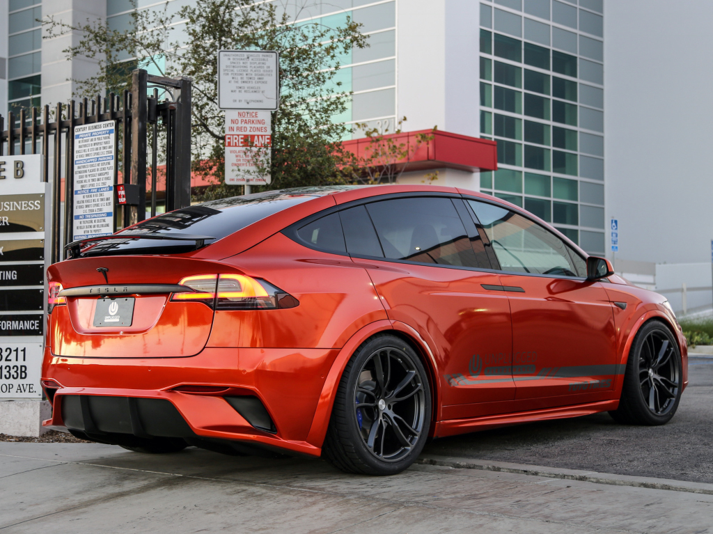 Tesla model x 2 tuning for Tesla model x porte