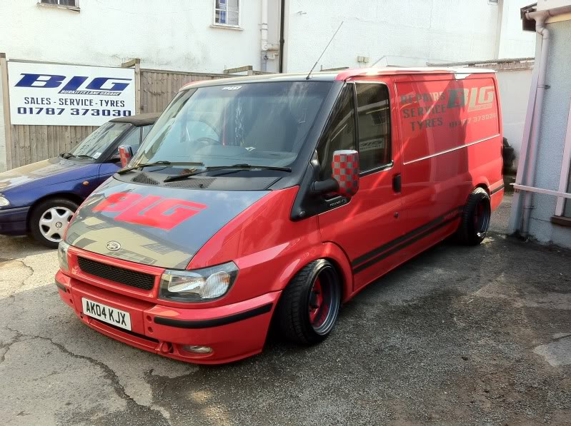 Ford Transit Van >> Ford Transit Tuning (1) | Tuning