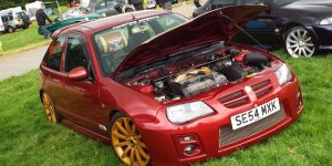 MG ZR Facelift